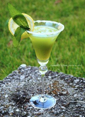 Pane, burro e alici: Cocktail analcolico kiwi e limone