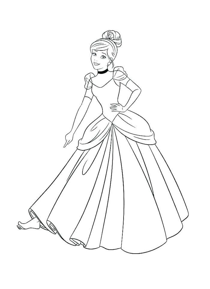 Coloring Pages Disney Princess 1 Cinderella Coloring Pages Princess Coloring Pages Disney Princess Coloring Pages