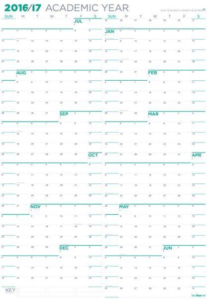 Best 25+ 2016 17 calendar ideas on Pinterest Free printable - sample academic calendar