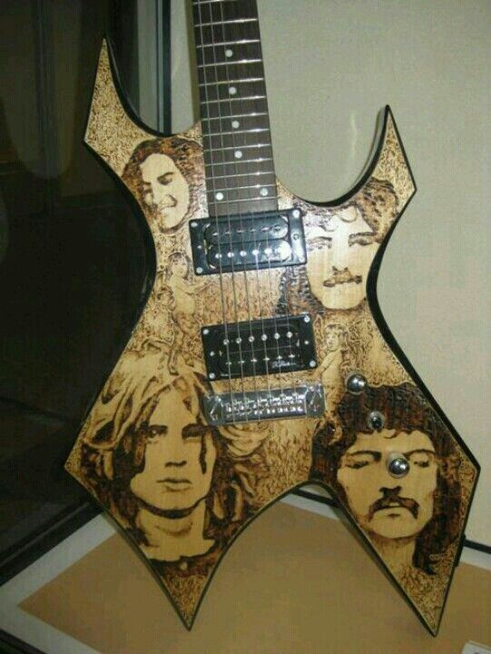Black Sabbath BC Rich Warlock
