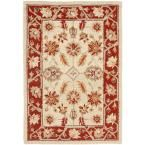 Chelsea Ivory/Rust (Ivory/Red) 2 ft. 6 in. x 4 ft. Area Rug