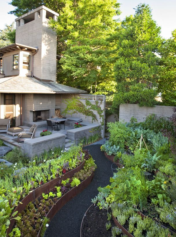 136 Best Images About Edible Garden Design On Pinterest | Gardens