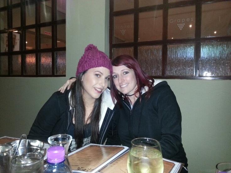 My sis and rox