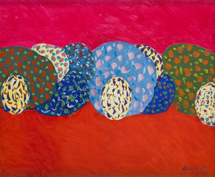 Tadeusz Dominik (1928 - 2014), oil on canvas, signed.