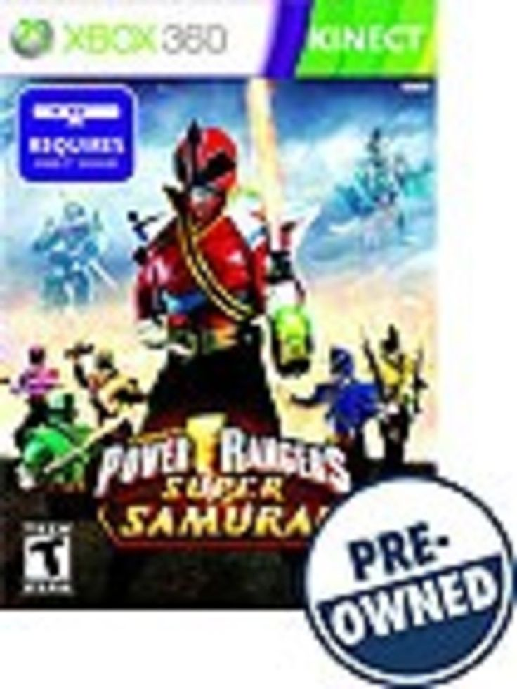 Power Rangers Super Samurai — PRE-Owned - Xbox 360