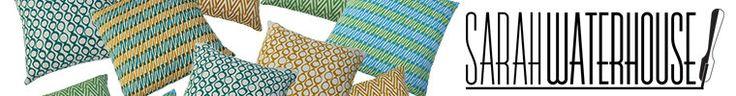 Handprinted sustainable fabrics at https://www.etsy.com/shop/sarahwaterhouse