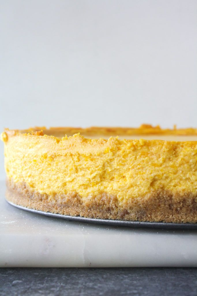 Baked Mango Cheesecake Recipe Mango Cheesecake Baking
