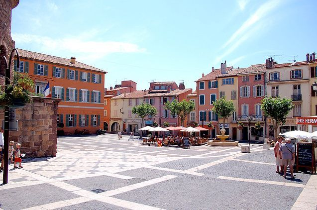 Frejus. South France. My friend Pip lives here and we have had many happy times sat in the square watching the world go by