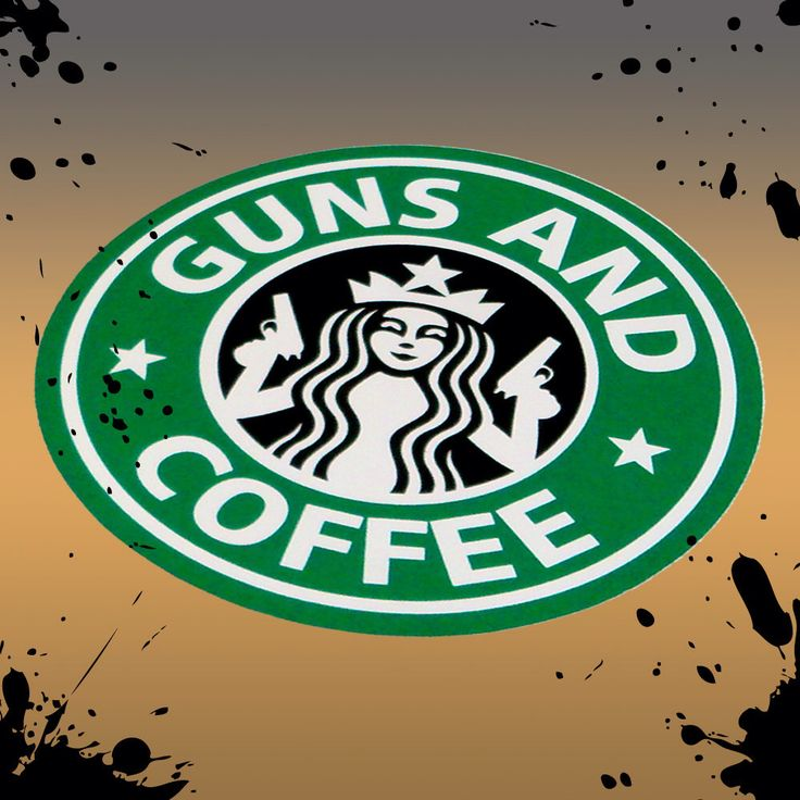 Starbucks Rare Guns and Coffee Morale Military Sticker by TacticalTextile on Etsy https://www.etsy.com/listing/121334436/starbucks-rare-guns-and-coffee-morale