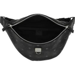 Mcm Fursten Visetos Belt Bag Medium Black in schwarz