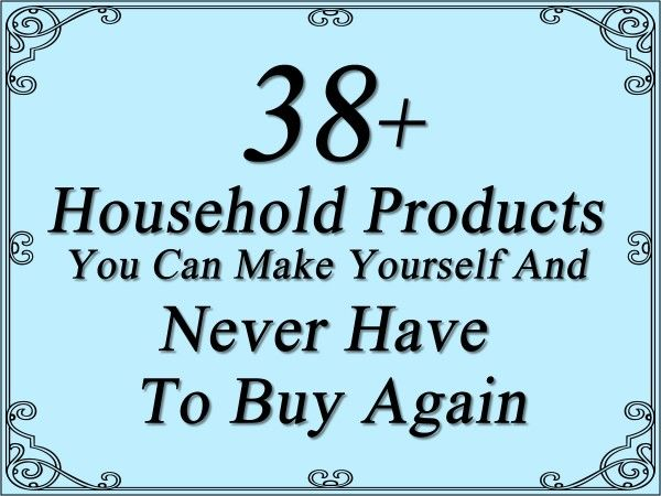 household-products-you-never-have-to-buy-again