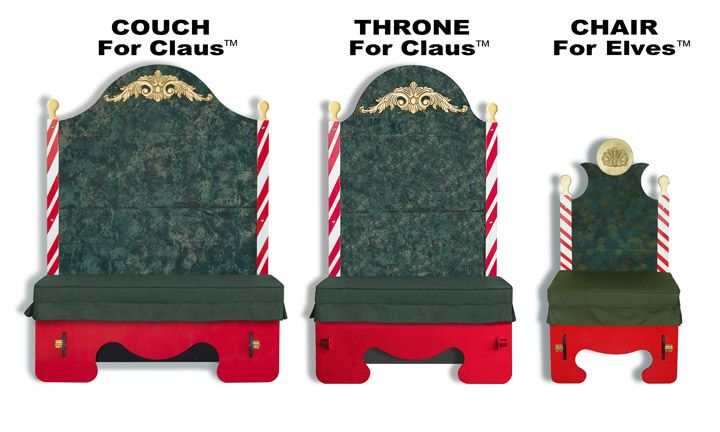 16 best images about santa chairs on pinterest queen for Throne chair plans