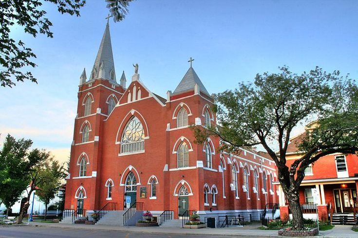 Sacred Heart Church Edmonton Alberta Canada