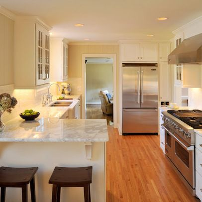 Kitchen Peninsula Design Ideas, Pictures, Remodel, and Decor - page 23