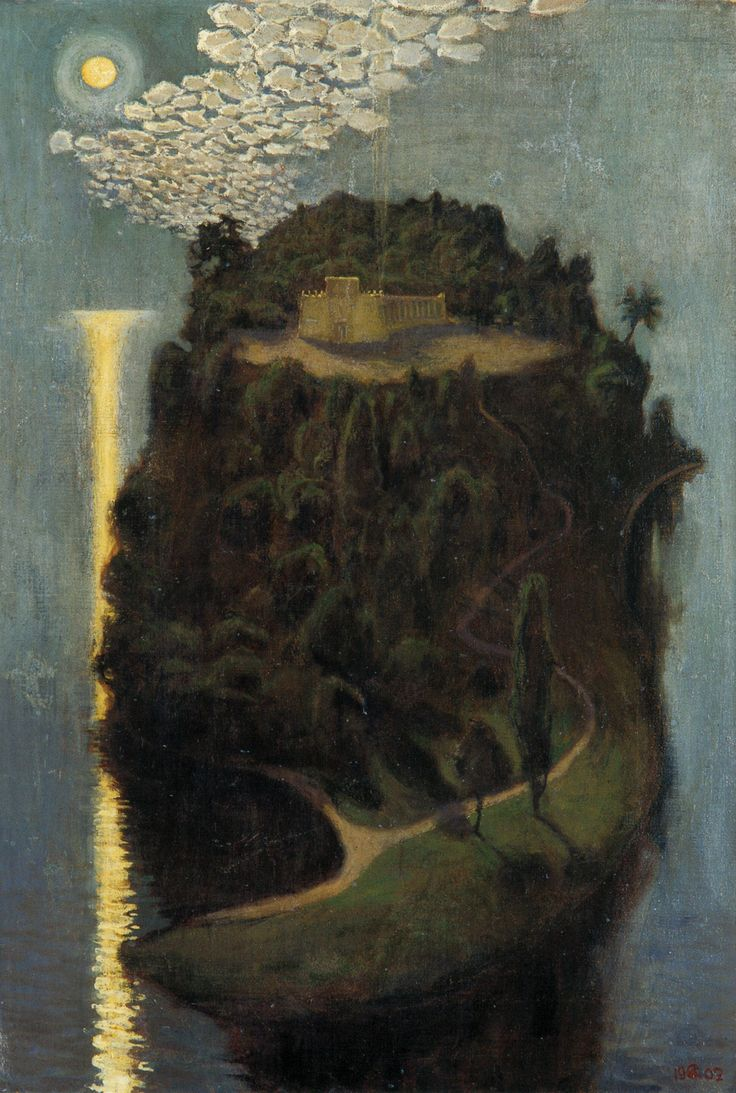 The Athenaeum - The Island of the Blessed (Akseli Gallen-Kallela - )