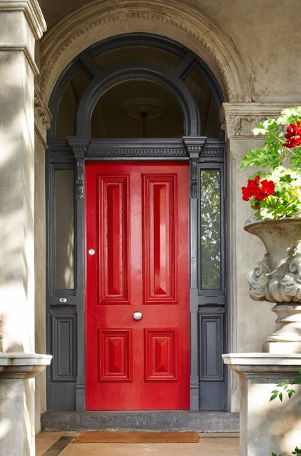 Traditional Exterior by Dulux Paint - Maybe not the color...but the shape is beautiful!