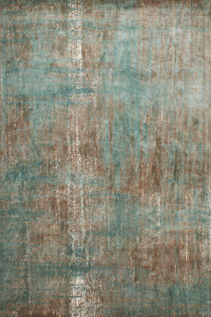 ALENA rug - #sergelesage - As an age-old patina ...
