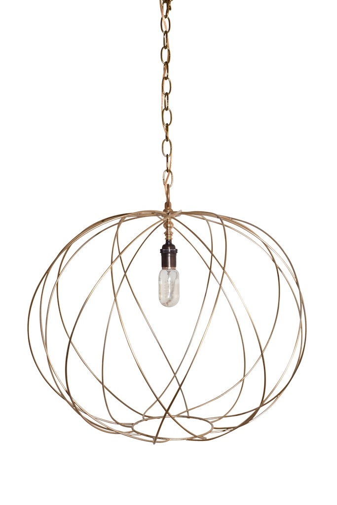 Ro Sham Beaux | Round Chandelier Lighting #chandelier