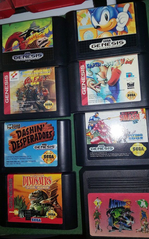 Sega Genesis Video Games, You Choose! Pick from VARIATIONS list, mix