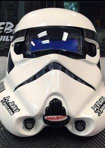 Plebani Built Stormtrooper Welding Helmet