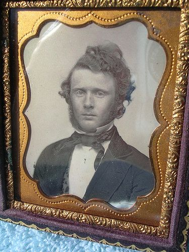 Wild Hair | This is a cool 1/9th plate daguerreotype beautif… | Flickr
