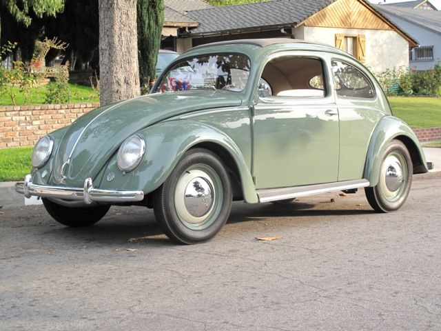 Beetle Cars For Sale Near Me >> 1950 VW Beetle Sunroof Sedan For Sale @ Oldbug.com | Volkswagen | Pinterest | Vw beetles ...