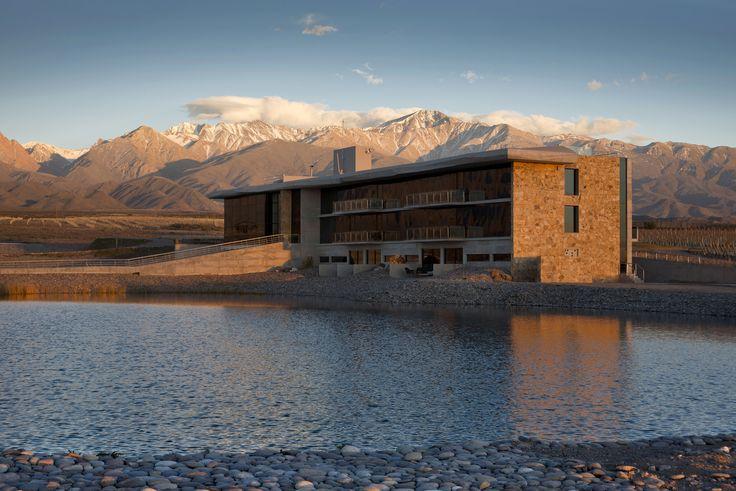 Casa de Uco Modern Home in Mendoza, Mendoza Province, Argentina by… on Dwell
