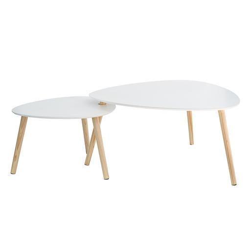 Mobilier En Scandinave 2019 Gigogne Ovale BlancDéco De Table gyYf76Ivb