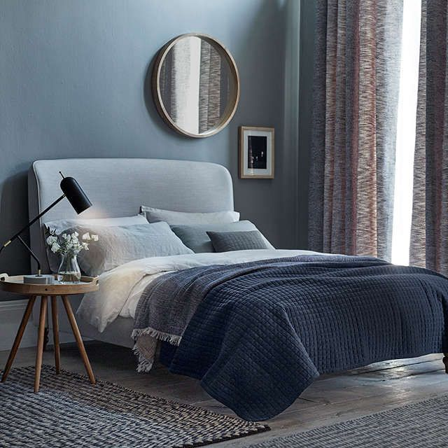BuyJohn Lewis Croft Collection Skye Bed Frame, Double, Grey Online at johnlewis.com