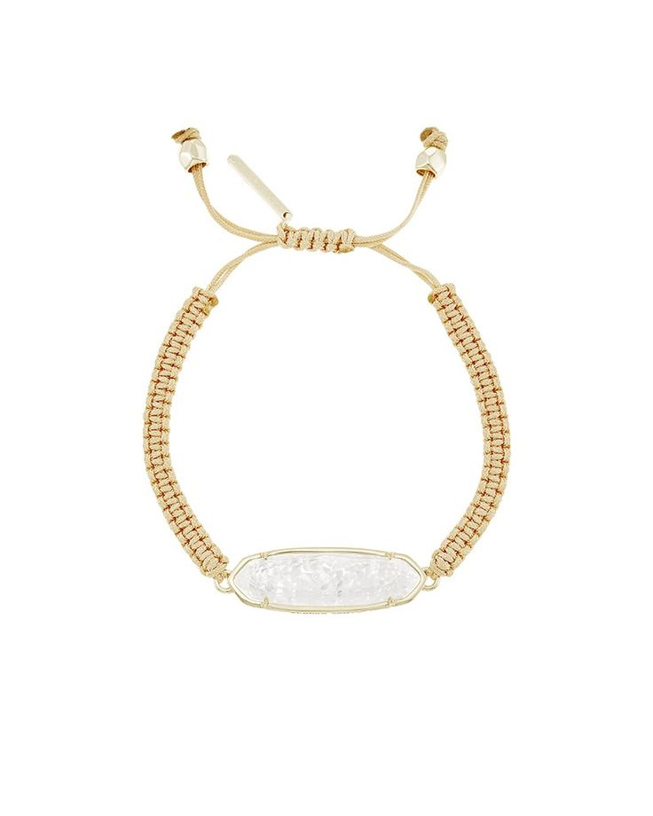 Spectacular A lightweight layer made for days in the sun the Lyla Bracelet features a slender