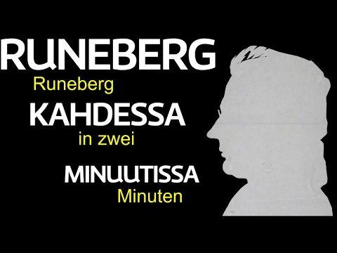 J.L.Runeberg - Der finnische und schwedische (!) Nationaldichter in 2 Minuten - YouTube