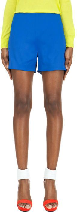 Hussein Chalayan Royal Blue Nothing Shorts