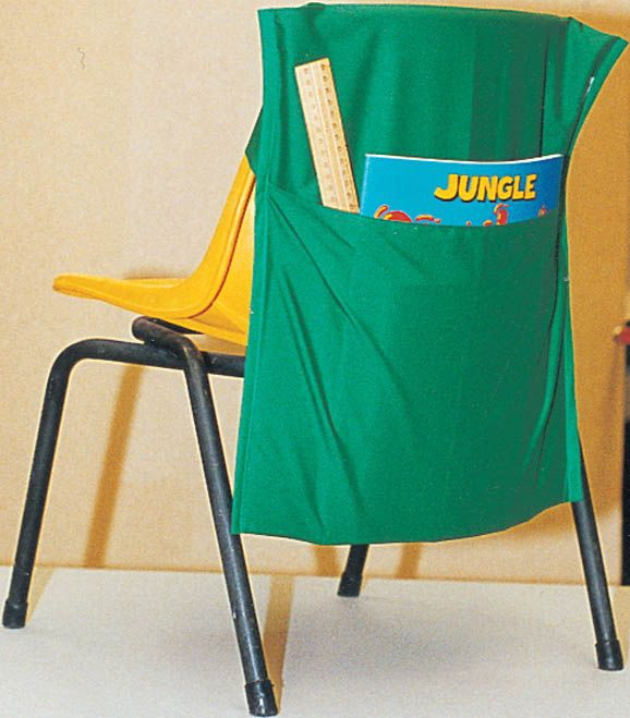Chair Bags - Did you have to have a chair bag like this one for the classroom so you could store your books?