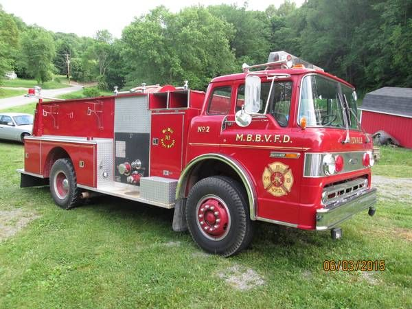 1980 Ford Pierce C 900 Fire Truck For