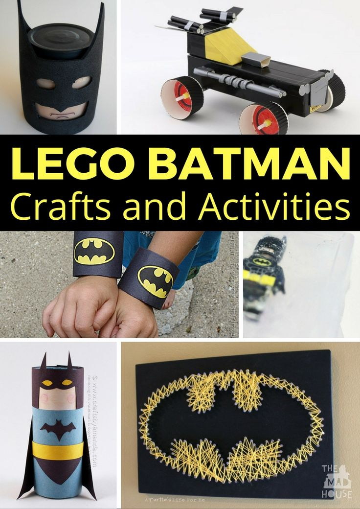 Amazing LEGO Batman crafts and activities to keep kids of all ages occupied. Make the most of LEGO Batman with these fab DIY Kids Crafts