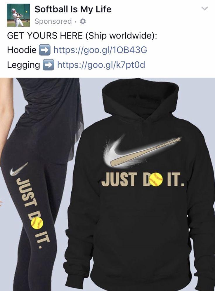 Just Do It #Nike #Softball
