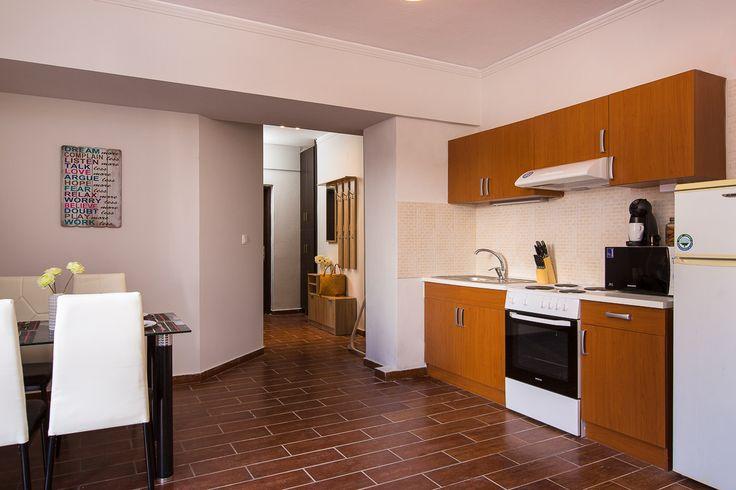 Villa Ioanna, Pigi village, Rethymno, Crete, Greece sinatsakisvillas.gr #villa #rethymno #crete #greece #village #island #vacation_rental #luxurious_accommodation #private #summer_in_crete #visit_greece #kitchen_area #dining_area