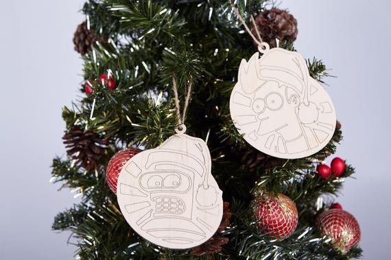 7 p. Futurama Christmas tree Ornament Christmas decoration ...