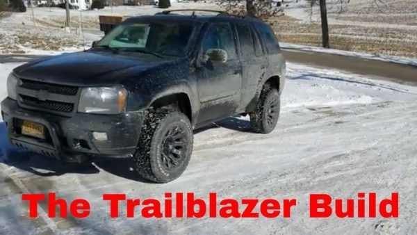 Lifted Chevy Trailblazer Build Part 1 In 2020 Chevy Trailblazer
