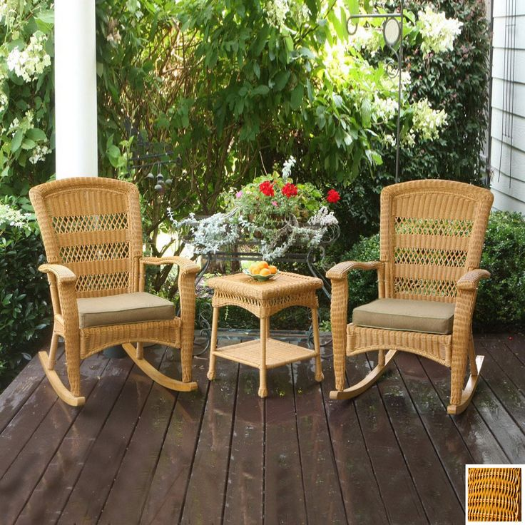Shop Tortuga Outdoor 3Piece Portside Patio Conversation