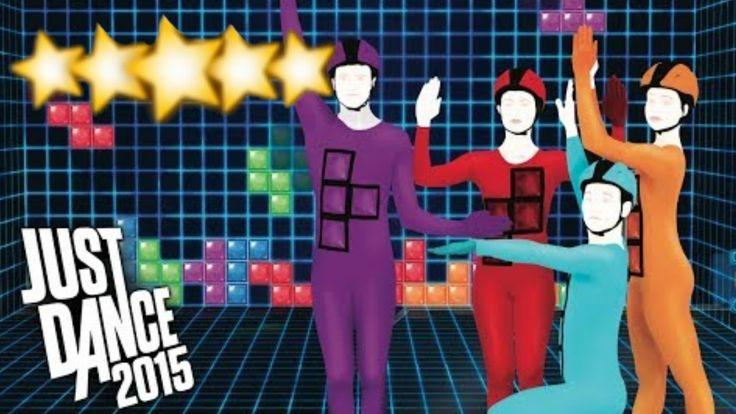 Tetris   Just Dance 2015   Full Gameplay 5 Stars