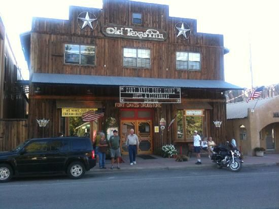 Old Texas Inn and Fort Davis Drug Store...old malt shop and hamburger joint too!