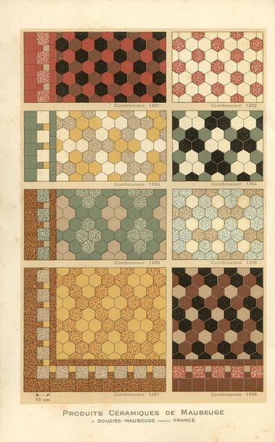 Carreaux petit catalogue (1928). Bathroom tile.