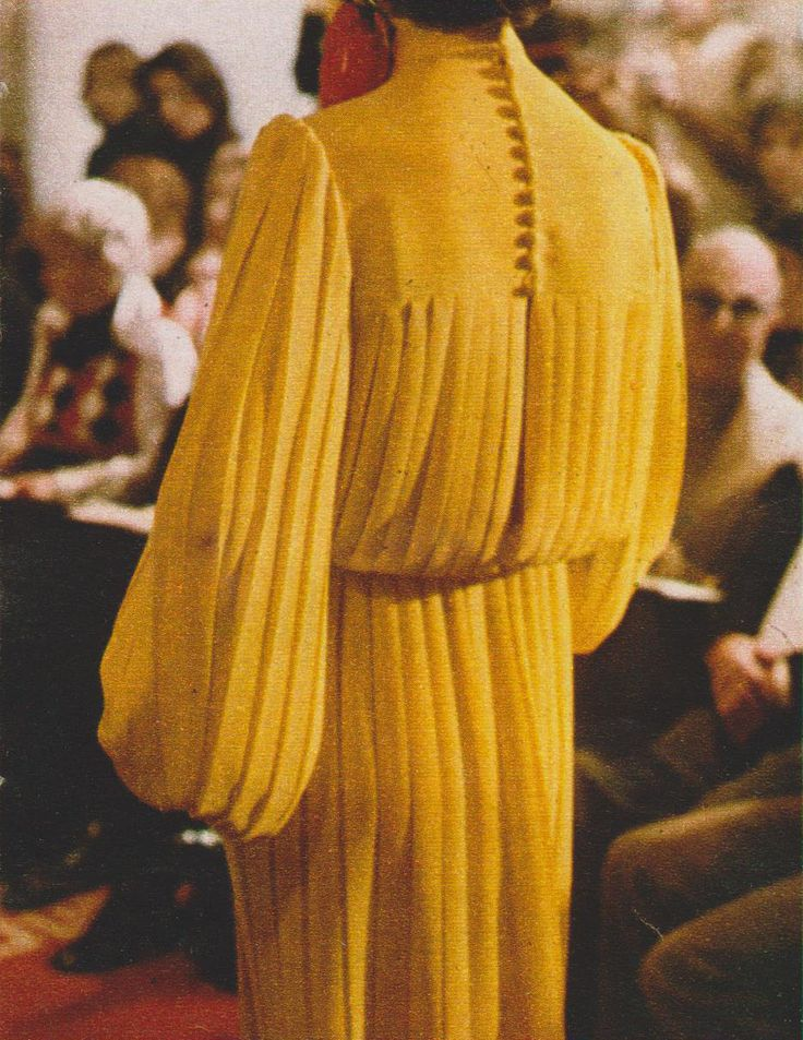 Lanvin Marie Claire, March 1972 Photographed by Peter Knapp