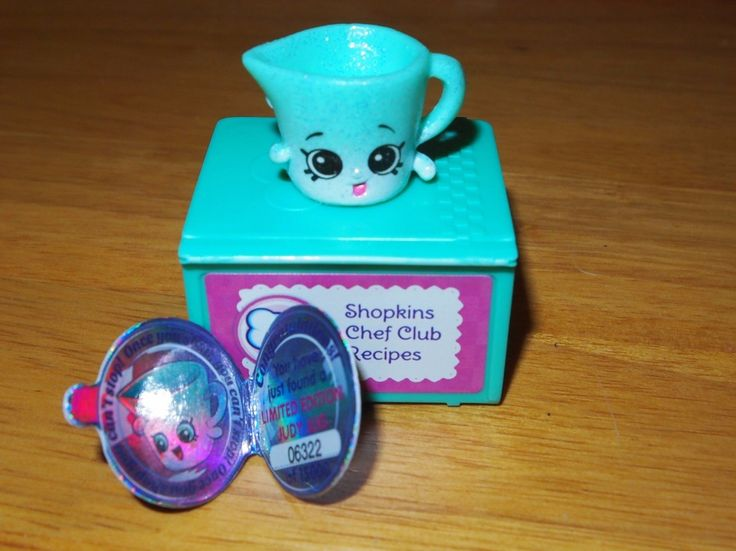 Very Rare Shopkins Shopkin Limited Edition Judy Jug #6322 Chefs Club