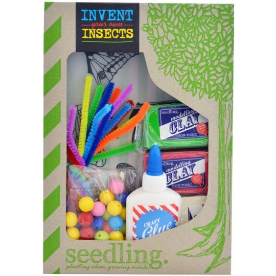 Seedling - Invent your own Insects. perfect for my little entomologist! #Entropywishlist #pintowin