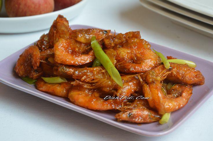 Diah Didi's Kitchen: Udang Goreng Mentega Pedas Manis