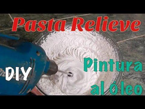 Cómo hacer Pasta Relieve Profesional -Tutorial- DIY - YouTube