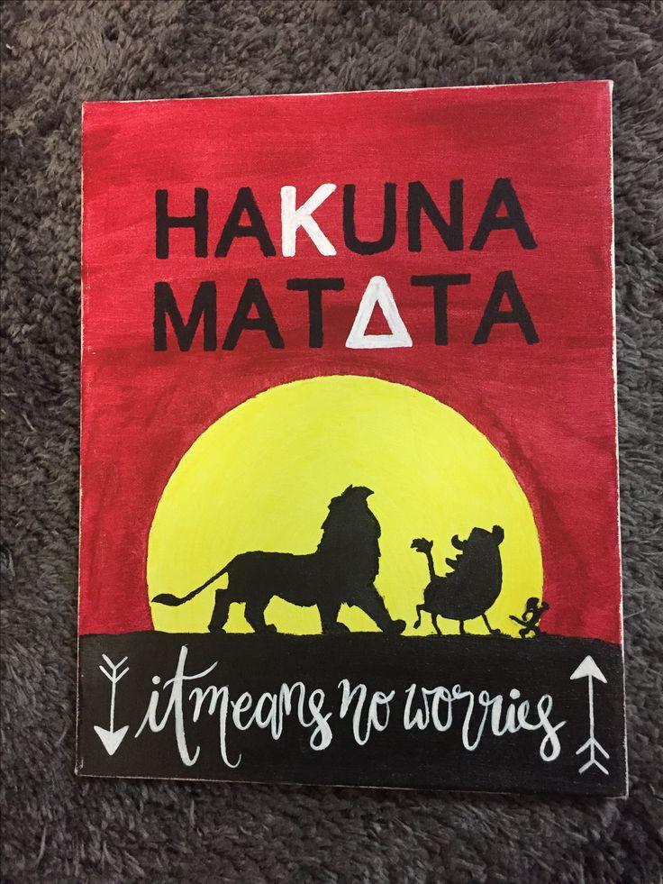 Kappa Delta Hakuna Matata
