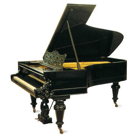 Grotrian-Steinweg, Konzertflügel von Clara Schumann, Nr. 3848